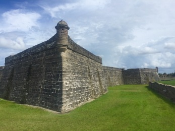 View of the Castillo de San Marcos