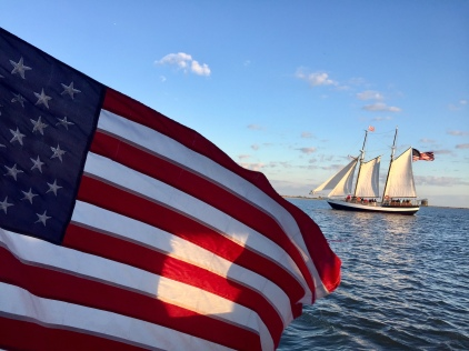 View from Florida Water Tours of Schooner Freedom