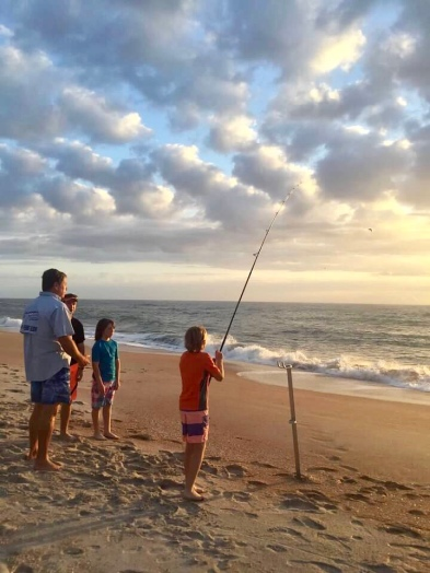 Fishing with The Surf Angler