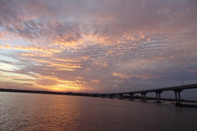 Sunset view from Vilano Pier