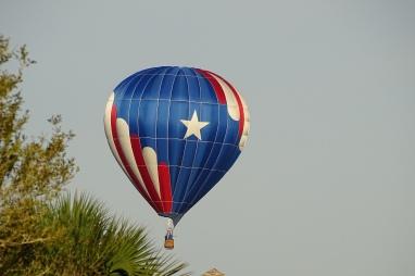 Hot Air Balloon over my home